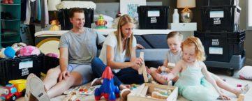 Comment déménager avec des enfants de bas âge