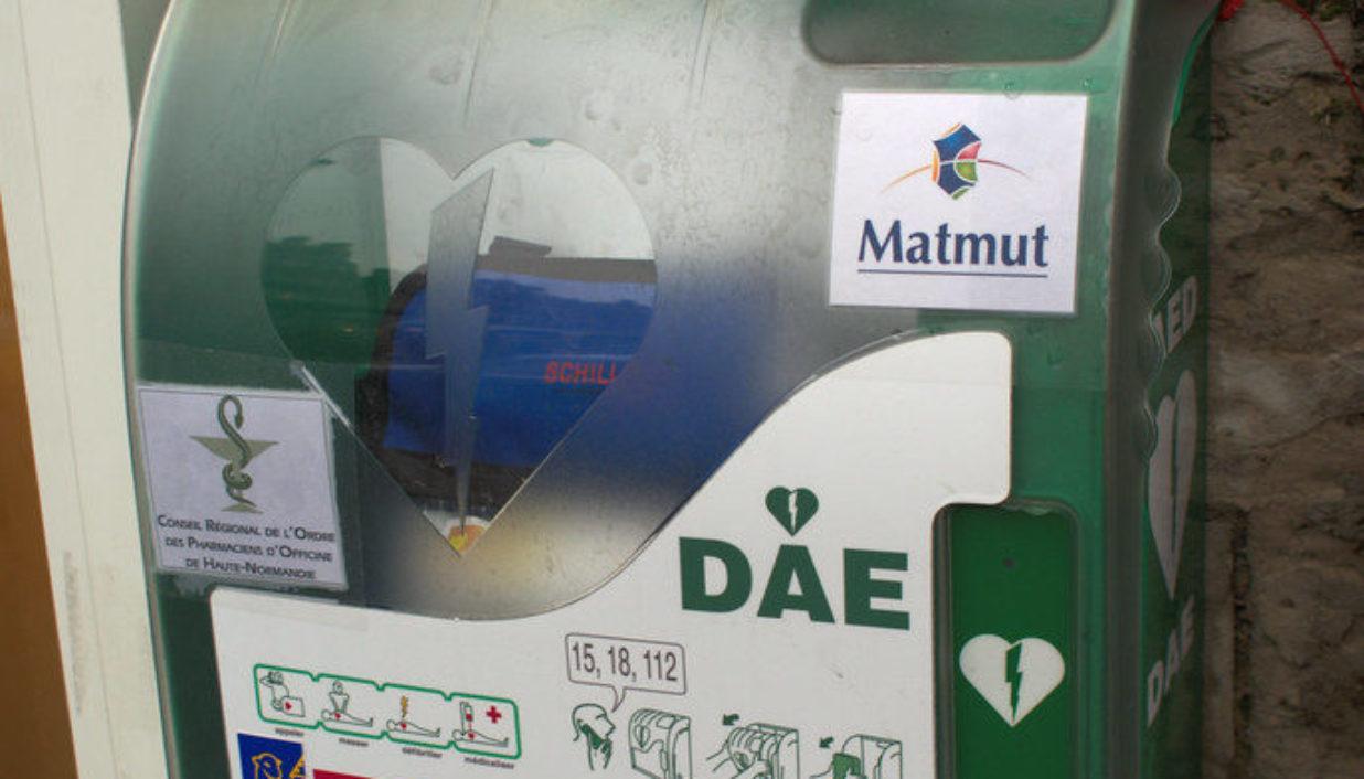 Défibrillateur matmut