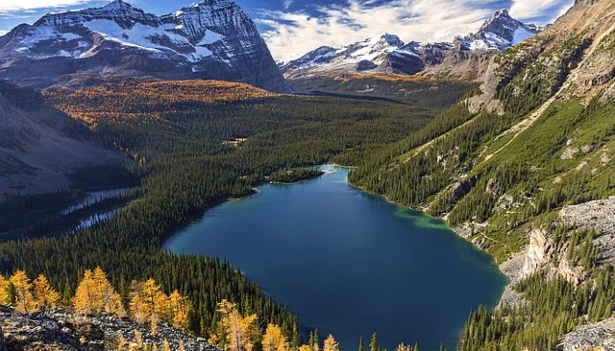 Séjour côté nature au Canada visiter le remarquable parc national de Yoho